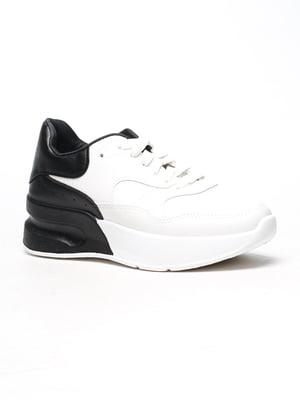 Кросівки біло-чорні | 5118071