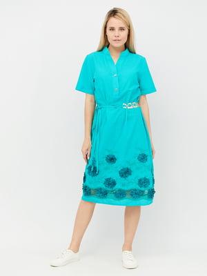 Сукня бірюзова | 5122563