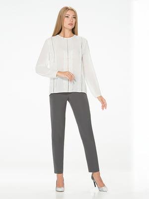 Блуза молочного цвета   5115727
