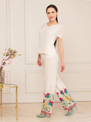 Блуза молочного цвета | 5115759