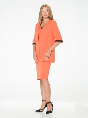 Жакет оранжевый | 5115893