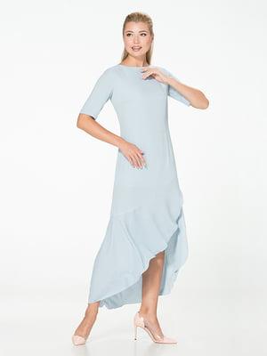Платье голубое | 5115919