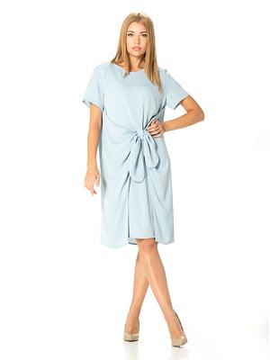 Платье голубое | 5115962