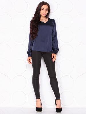 Блуза темно-синяя   5123258