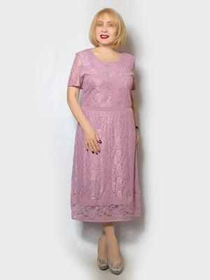 Платье сиреневое | 5123647