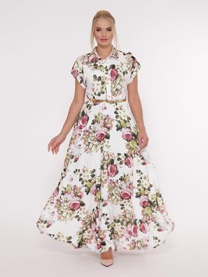 Сукня в квітковий принт | 5124240