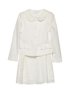 Платье молочного цвета   3062673