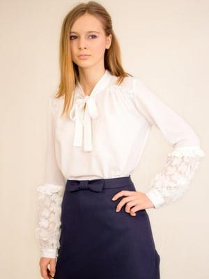 Блуза біла | 4658180