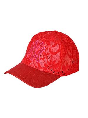 Бейсболка червона   5089531