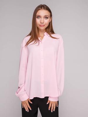 Рубашка розовая   5110555