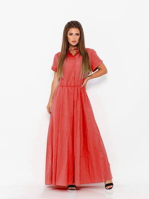 Платье коралловое | 5124685