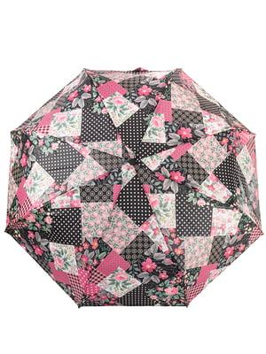 Зонт розово-серый | 5124820