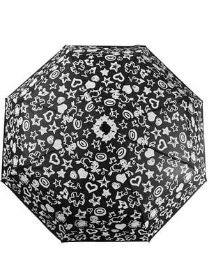 Зонт черный | 5124827