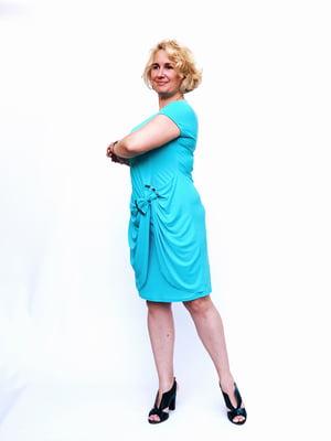 Платье голубое | 5124573