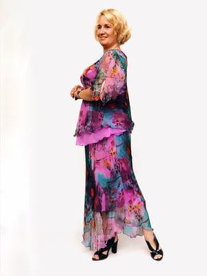 Костюм: блуза и юбка - Мисс мода - 5124633