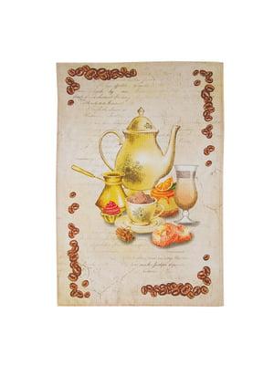 Полотенце кухонное вафельное (45х75 см) | 5059946