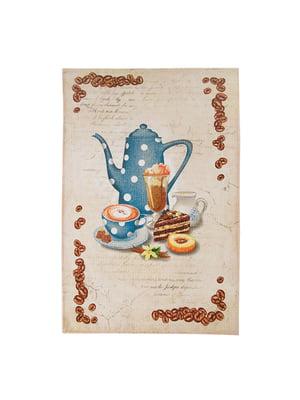 Полотенце кухонное вафельное (45х75 см) | 5066524