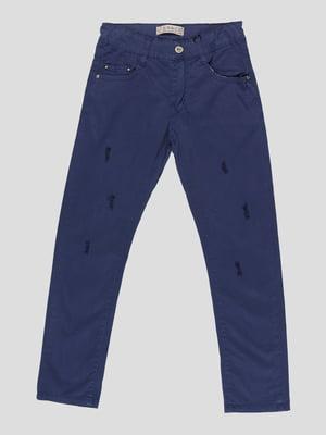Штани сині | 5124289