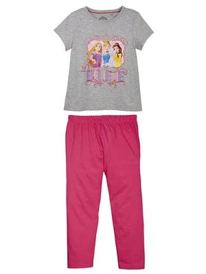 Пижама: футболка и брюки | 5125430