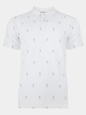 Футболка-поло белая | 5125496