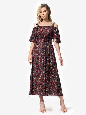 Платье в цветочный принт | 5126162