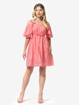 Платье коралловое | 5126164