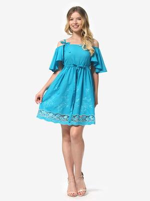 Платье голубое | 5126165