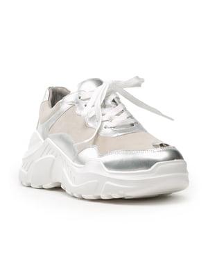 Кросівки сріблясті | 4874792