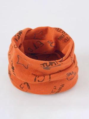 Шарф оранжевый | 4693306
