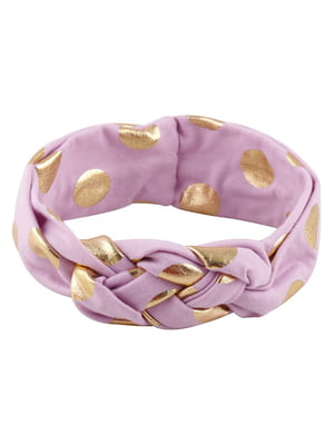 Повязка на голову розовая | 5127399