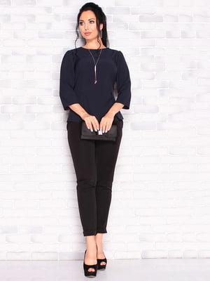 Блуза темно-синего цвета | 5123272
