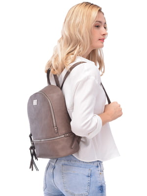 Рюкзак сіро-бежевий   5128192