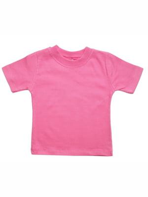 Футболка рожева | 5128260