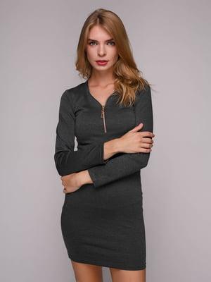 Платье темно-серое | 5128100