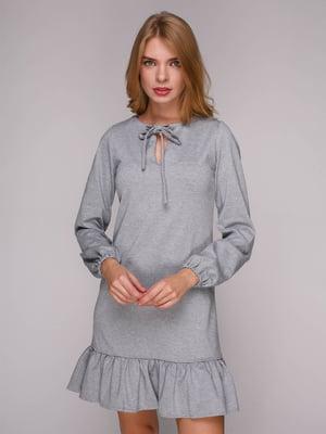 Платье серое | 5128090