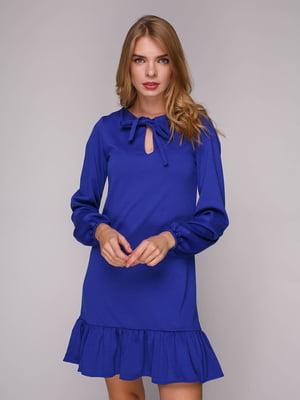 Платье синее | 5128089