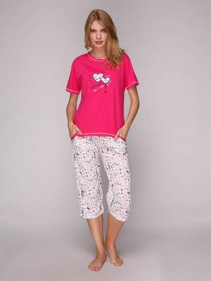 Комплект: футболка і капрі | 5128069