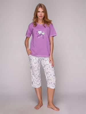 Комплект: футболка и капри | 5128068