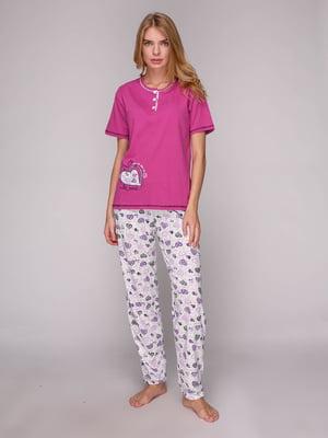 Піжама: футболка та штани | 5128115