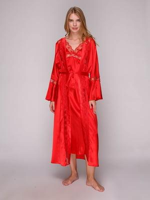 Комплект: халат та сорочка нічна | 5128085