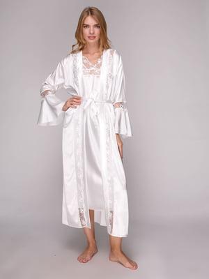 Комплект: халат та сорочка нічна | 5128086