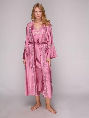 Комплект: халат и рубашка ночная | 5128087