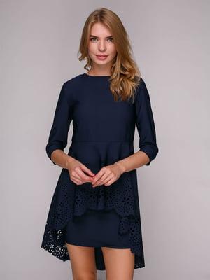 Платье темно-синее | 5128093