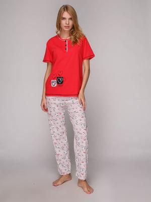 Піжама: футболка та штани | 5128118