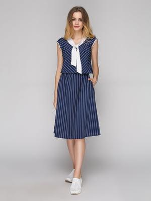 Сукня синя в смужку | 5128874