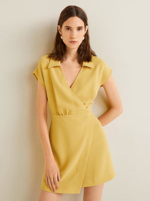 Платье желтое | 5027398