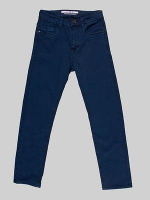 Брюки темно-синие   5128793