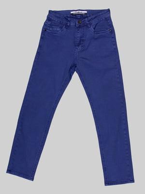 Брюки синие   5128792