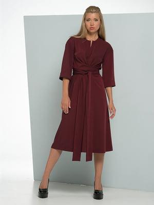 Платье цвета марсала | 5109800