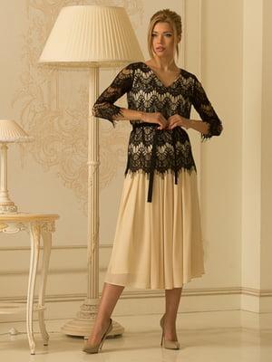 Костюм: блуза і спідниця | 5120735
